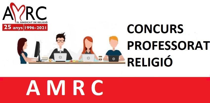 Concurs Professorat Religió